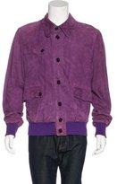 Dolce & Gabbana Suede-Collared Jacket