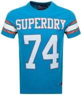 Superdry Stadium SeriesT Shirt Blue