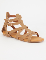 Bamboo Clean Strap Womens Gladiator Sandals