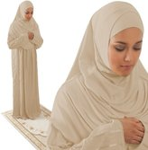 Amade Muslim Women's One-piece Prayer Dress Abaya Set ( (12-18), )