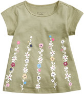 First Impressions Boho Flower-Print Cotton T-Shirt, Baby Girls (0-24 months), Created for Macy's