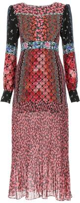 Saloni Floral Maxi Dress