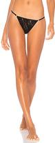 Hanky Panky Signature Lace String Bikini in Black. - size L (also in M,S)