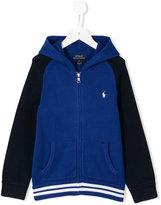 Ralph Lauren embroidered logo hoodie - kids - Cotton - 3 yrs