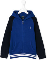 Ralph Lauren embroidered logo hoodie - kids - Cotton - 6 yrs