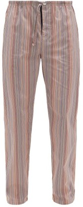 Paul Smith Signature Stripe Cotton Pyjama Trousers - Multi