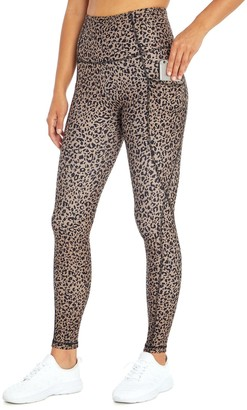 Women's Marika Nikki Cheetah Print High-Waisted Leggings