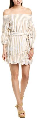 Tularosa Maida Ruffle Mini Dress