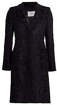 Max Mara Women's Oncia Brocade Alpaca & Wool Tailored Coat