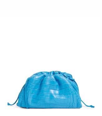Bottega Veneta The Crocodile Mini Pouch Cross-Body Bag