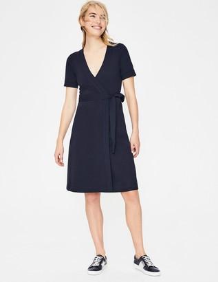Mira Ponte Wrap Dress