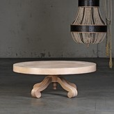 The Well Appointed House Lille Coffee Table in White Oak Veneer