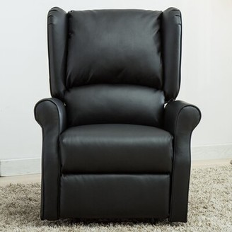 Red Barrel Studio Andron Faux Leather Manual Recliner