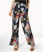 NY Collection Printed Drawstring Pants