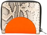 Kenzo Kurved wallet - women - Leather - One Size
