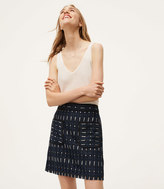 LOFT Circuit Lace Pocket Skirt