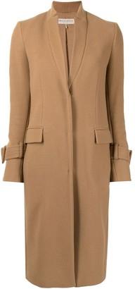Emilio Pucci Pre-Owned Skinny Lapels Knee-Length Coat