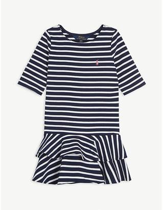 Ralph Lauren Striped cotton-blend dress 2-14 years