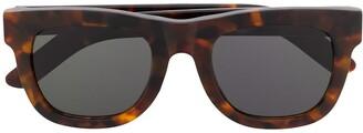 RetroSuperFuture Tortoise-Shell Square Sunglasses