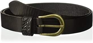 House of Boho Tooled Keeper 100% Leather Belt
