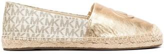 MICHAEL Michael Kors MK logo-embossed espadrilles