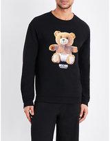 Moschino Teddy Bear-print Cotton Sweatshirt