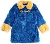 Mimisol Two Tone Kalgan Fur Coat