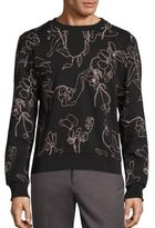 Paul Smith Floral Embroidered Sweatshirt
