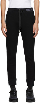 Diesel Black P-Latinum Lounge Pants