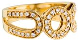Di Modolo 18K Diamond Open Circle Ring