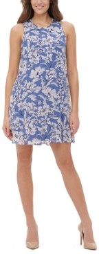 Tommy Hilfiger Olivia Floral-Print Shift Dress