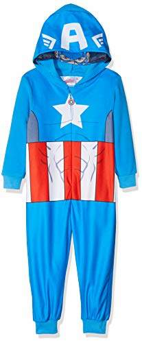 Boy's Avengers Classic Long Sleeve Onesie,(Manufacturer Size:8Y)