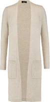Theory Fiona linen and cashmere-blend cardigan