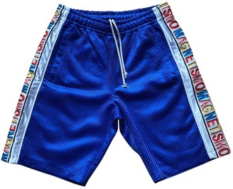 Gucci Blue Polyester Shorts