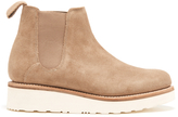 Grenson Women's Lydia Suede Chelsea Boots Cloud