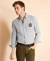 Brooks Brothers Cotton Flannel Patch Shirt