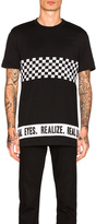 Givenchy Cropped Checkerboard Tee