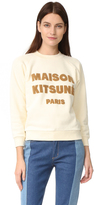 MAISON KITSUNÉ Logo Printed Sweatshirt