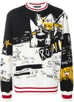 Dolce & Gabbana royal print sweatshirt