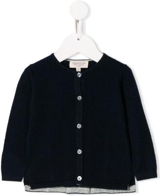 Cashmirino buttoned knit cardigan