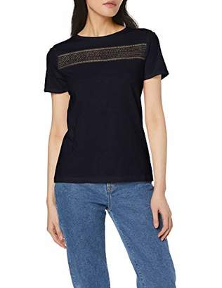 S'Oliver Women's 14.905.32.6299 T-Shirt, Off-8 (Size: )