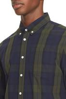 Saturdays NYC Plaid Slim Fit Sport Shirt