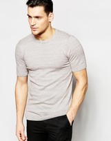 Asos Muscle Fit Knitted Tshirt