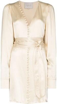 ENVELOPE1976 Nice belted mini dress