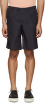 Acne Studios Navy Ari Pop Shorts