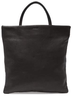 Baggu Mini Leather Flat Tote