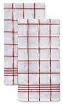 Sur La Table Waffle Check Towels, Set of 2