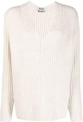 Acne Studios V-neck rib sweater