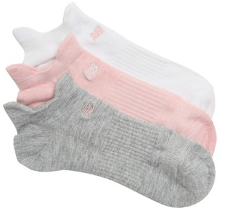 New Balance Double Tab Women's No Show Socks - 3 Pack