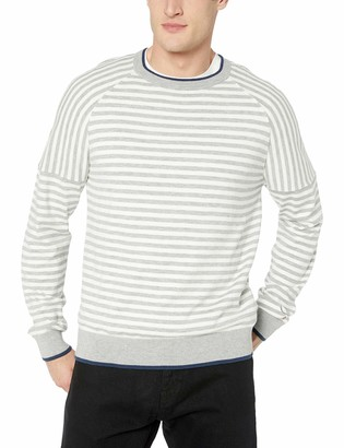 Mills Supply Men's Crewneck Long Sleeve Pullover Sweater
